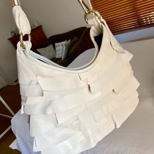 Make an Offer! YSL Saint Tropez Cream Bag
